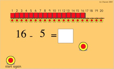 Target Take Away (Subtraction)