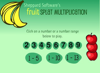 Fruit Splat Multiplication