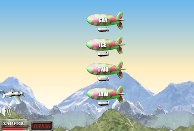Airtyper (An English Typing Game)