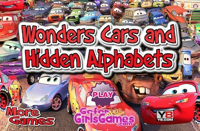 Wonder Cars: Hidden Alphabet