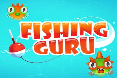 Fishing Guru Typing Game