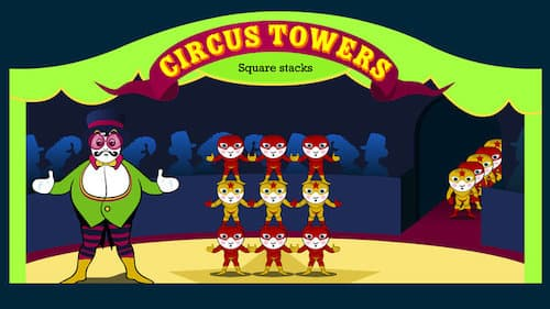Circus Tower: Square Stack