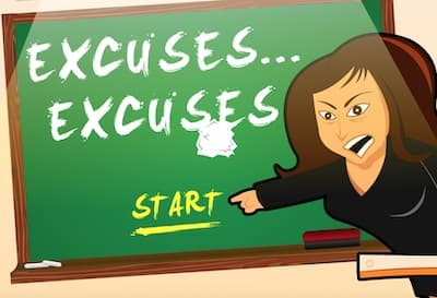 Excuse Excuse(Typing Game)