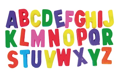 Learn to Identify Letters with Alphabet Song Game