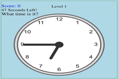 What's the Time: Time Telling Quiz?