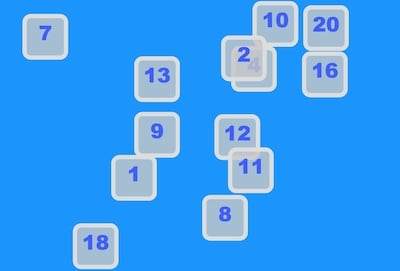 Learn Counting With Number Picker Game (1 to 20)