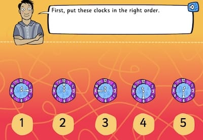 Digital And Analogue Clock Learning