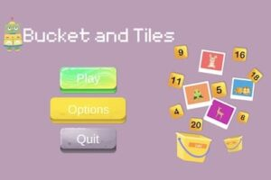 buckets and tiles